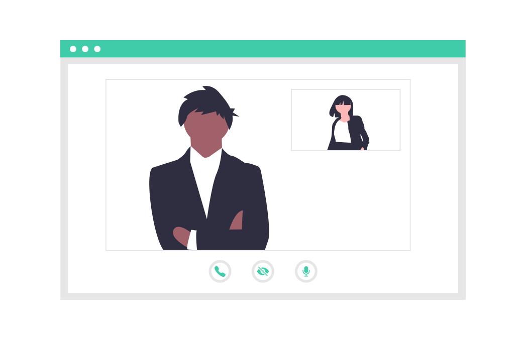 So führen Sie das perfekte virtuelle Meeting mit Ihren Kunden durch